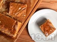 Рецепта Домашен карамелен сладкиш с бонбони Лакта